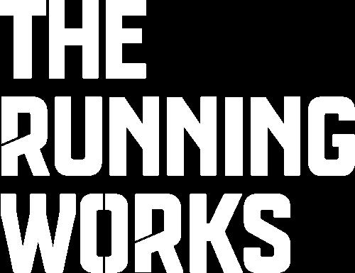 the running works logo