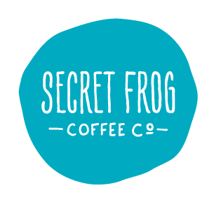 Secret Frog Coffee Co Logo
