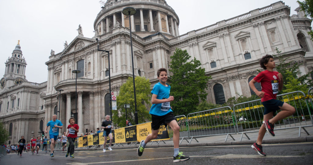 Fun for all the family at the City of London Mile