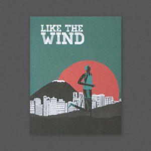Like the wind running magazine