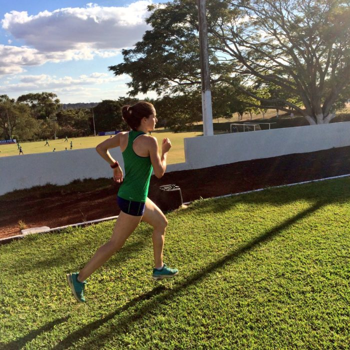 Sara training in Brazil