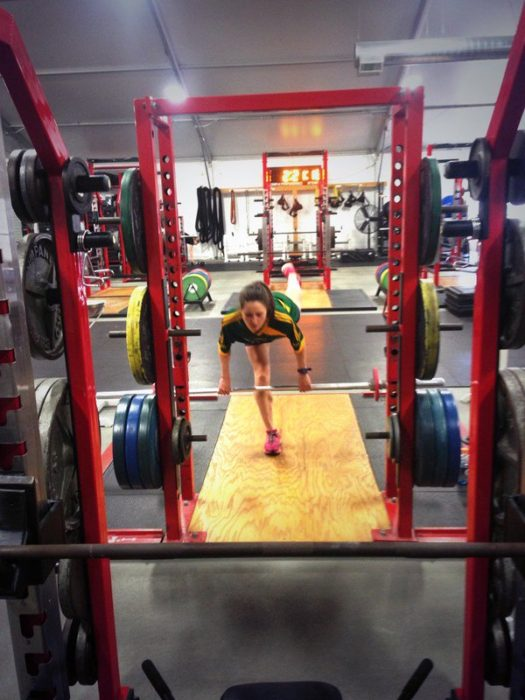 cross training in the gym